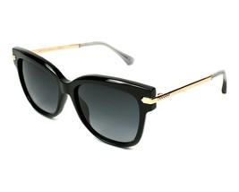 Jimmy Choo ARA N08 Cat Eye Women Sunglasses Black/Gold Grey Gradient NEW 54mm - $112.09