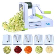 Zalik 5-Blade Spiralizer Vegetable Spiral Slicer With Powerful Suction B... - $29.33