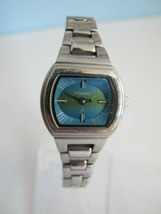 Fossil F2 ES-9793 Stainless Steel Quartz Ladies Watch, new battery! - $24.74