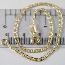 Bracelet en or Jaune 750 18K, Traverse Lisse 2 mm,Long 19 CM - $133.25