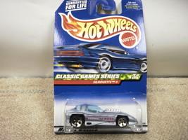 L37 Mattel Hot Wheels 21330 Silhouette Ii Classic Games Series #2/4 New On Card - $2.97