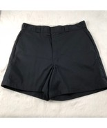 Dickies Men's Loose Fit Black Shorts Work Shorts Pockets Size 38 - $13.54