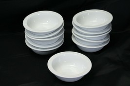 "Oneida Toms Diner Rimmed Cereal Bowls 5.5"" Lot of 11 - $137.19"