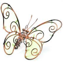 Butterfly w Glow in the Dark Wings Pot Edge Sitter on Hook Garden Decoration image 5