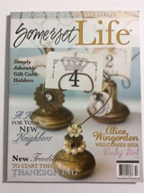 Somerset Life Magazine Thanksgiving Gift Card Holders Baby Girl Dec 2011 - $11.87