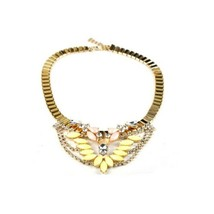 New Item European Exaggerated Short National Style Necklace - $21.77