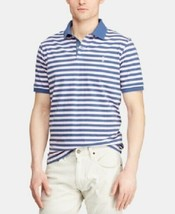 New Mens POLO Ralph Lauren Montauk Classic Fit Striped Jersey S/S Polo Size 2XL - $27.86