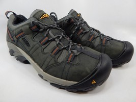 Keen Detroit Low Top Sz 9.5 2E WIDE EU 42.5 Men's Steel Toe Work Shoes 1007010EE