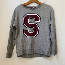 DIVIDED H&M GRAY S STANFORD SWEATER - $34.65
