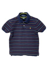 Polo by Ralph Lauren youth kids polo shirt striped short sleeve size 7 - $13.75