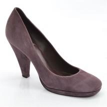 All Suede Heel PUMPS Leather 5 size Mauve High DELMAN Ladies Shoes M 6 Platform wz4q5n8x7R