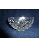 """Crystal Lead WATERFORD ROUND BOWL 6"""" Diameter NO CRACKS or CHIPS NEW (A) - $32.99"""