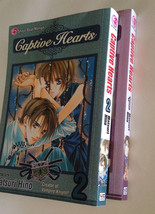 Captive Hearts Volumes 1-2 Shojo Beat Manga Book Matsuri Hino Viz Media - $12.59