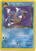 Dark Gyarados 25/82 Rare Team Rocket Unlimited Pokemon Card