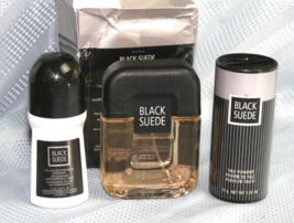 Avon Black Suede Present Perfect 3-piece Gift Set  - $34.58