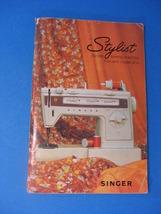 SINGER Zig-Zag Model 834 STYLIST Free-Arm Instructions Manual - $25.00