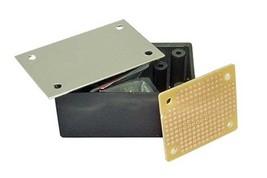 """PB114F 3.23"""" x 8.54"""" x 5.43"""" ABS Black Plastic Project Box"""