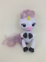 Fingerlings Unicorns Wowwee White Unicorn Interactive Toy w Batteries To... - $15.99