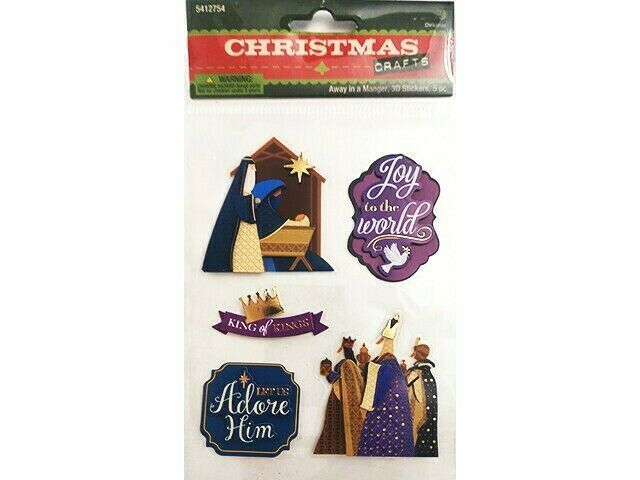 Christmas Holiday Stickers, You Choose