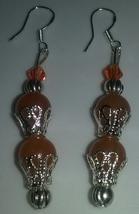 Handmade Sterling Silver Genuine Orange Aventur... - $7.50