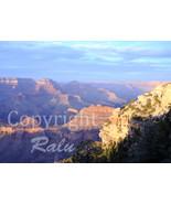 Sunset Grand Canyon National Park Nature 5x7 Original Landscape Photo - $9.99
