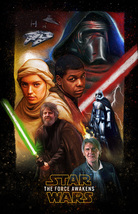 Star Wars A Force Awakens Cross Stitch Pattern***L@@K*** - $4.95