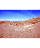 Grand Sand Dunes National Park Colordo Nature 5x7 Original Landscape Photo - $9.99
