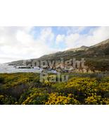 Big Sur California Coastline Nature 5x7 Original Landscape Ocean Photo - $9.99