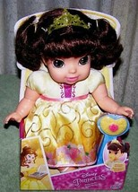 "Disney Princess Baby BELLE 10.5"" Doll with pacifier New - $26.88"