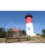 Nauset Lighthouse Cape Cod Massachusetts Nature 5x7 Original Photo - $9.99