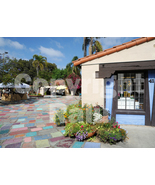 San Diego Spanish Village Colored Tiles California 5x7 Original Photo - $9.99