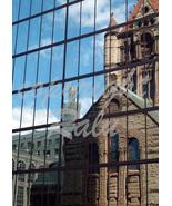 Trinity Church Reflection Copley Square Boston Masschusetts 5x7 Original... - $9.99