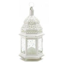WHITE MOROCCAN LANTERN - $16.95