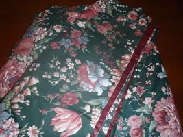 2 Croscill Granada Pink Blue Floral Green 102 x 25 Scarf Valances - $93.14