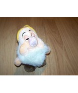 Disney Store Snow White and the Seven Dwarfs Sleepy Dwarf Plush Stuffed ... - $15.00
