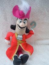 Fisher Price Disney Talking Captain Hook Mattel 2011 - $6.99