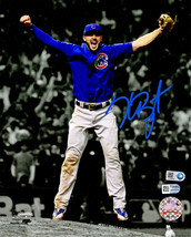 KRIS BRYANT Signed Cubs World Series Last Out Spotlight 8x10 Photo - FAN... - $474.21