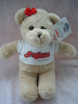 "Indians MLBD 2005 Plush Team 13"" Bear New With Tag - $6.99"