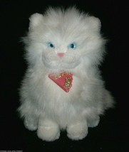 "10"" Vintage 1983 Dakin Princess Persian White Kitty Cat Stuffed Animal Plush Toy - $27.12"