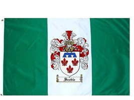 Scoble Coat of Arms Flag / Family Crest Flag - $29.99