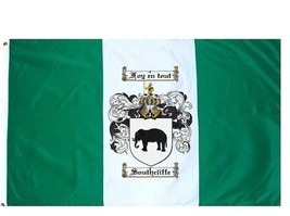 Southcliffe Coat of Arms Flag / Family Crest Flag - $29.99