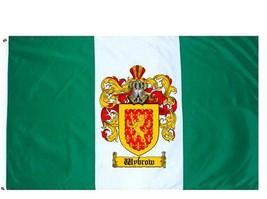 Wybrow Coat of Arms Flag / Family Crest Flag - $29.99