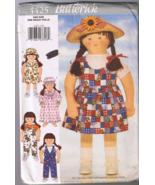 Butterick 4425 Little Sister Doll Clothes for 3... - $5.00