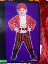 New Boy's Totally Ghoul Lil Pirate Halloween Costume Sz 4-6 Yrs Dress Up Toddler - $14.65