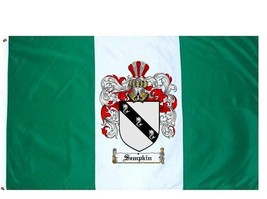 Sempkin Coat of Arms Flag / Family Crest Flag - $29.99