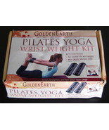 Golden Earth Pilates Yoga Wrist Weight Kit 1 LB Weights Workout DVD NEW - $19.78