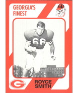 1989 Georgia's Finest #39 Royce Smith -Georgia Bulldogs- - $1.99
