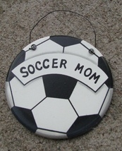 WD1900B - Soccer Mom Wood Sign  - $1.75