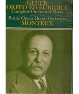 Pierre Monteux ‎– Gluck - Orfeo ed Euridice Complete Orchestral Music - $9.99