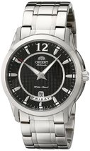 Orient Men's CEV0M001B 21 Jewel Automatic with Full Day and Date Black Face - $237.65